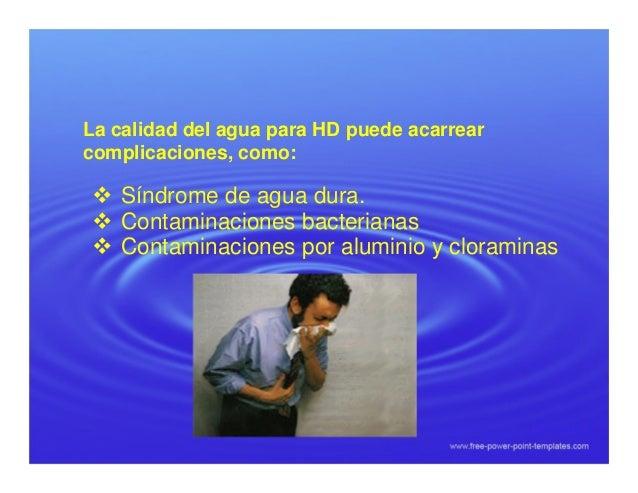 Agua de hemodialisis consecuencias clinicas for Ph piscina bajo consecuencias