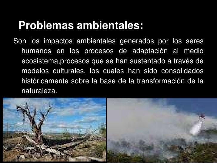 Consecuencias del accionar tecnol gico sobre el ambiente for Noticias naturaleza