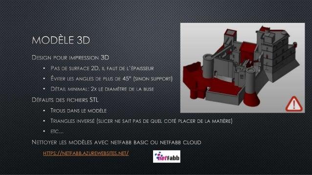 Conseils d'impression 3D (FFF) Slide 3
