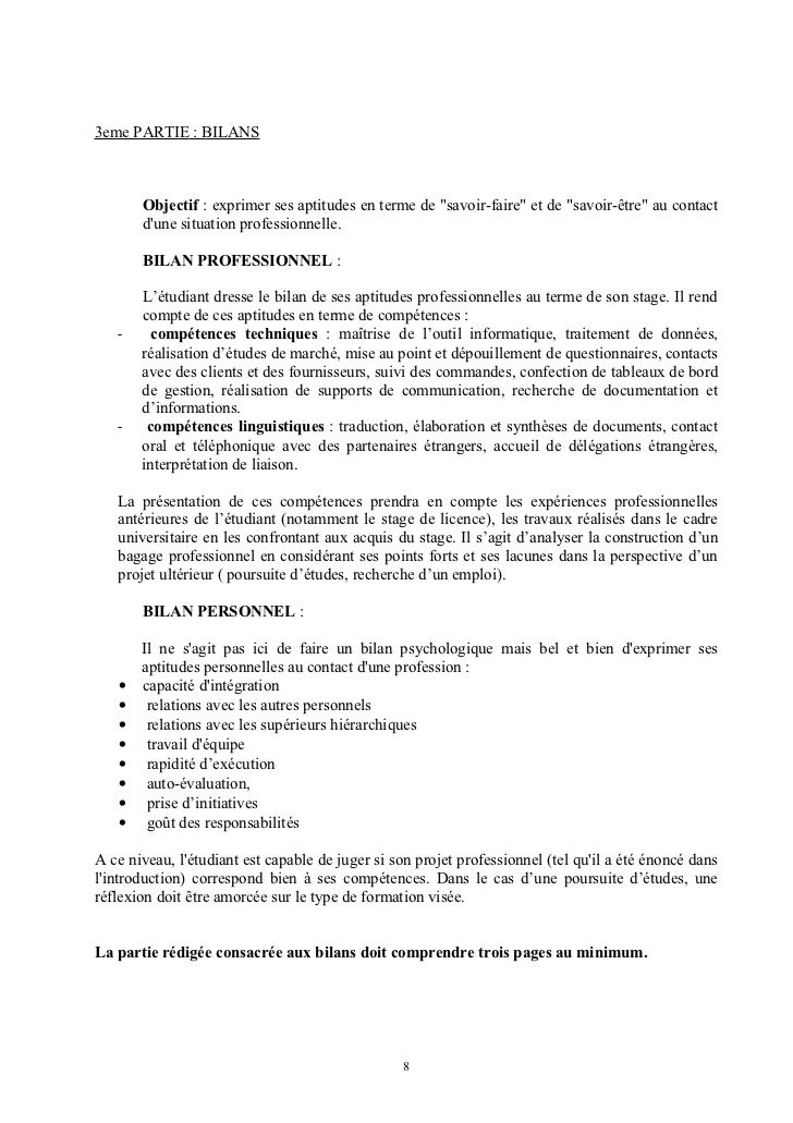 conseils redaction rapport stage m1 mmi u0026ci
