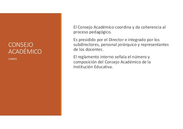 Consejo Académico Slide 2