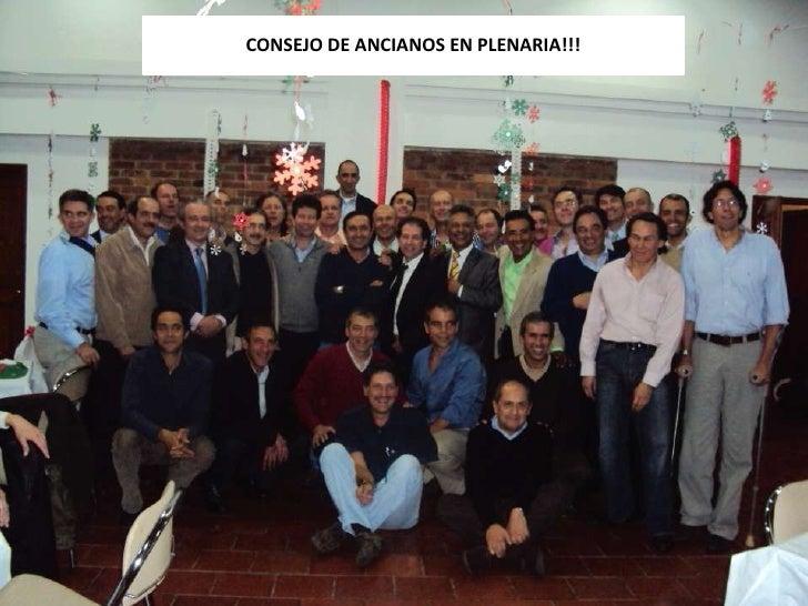 CONSEJO DE ANCIANOS EN PLENARIA!!!<br />