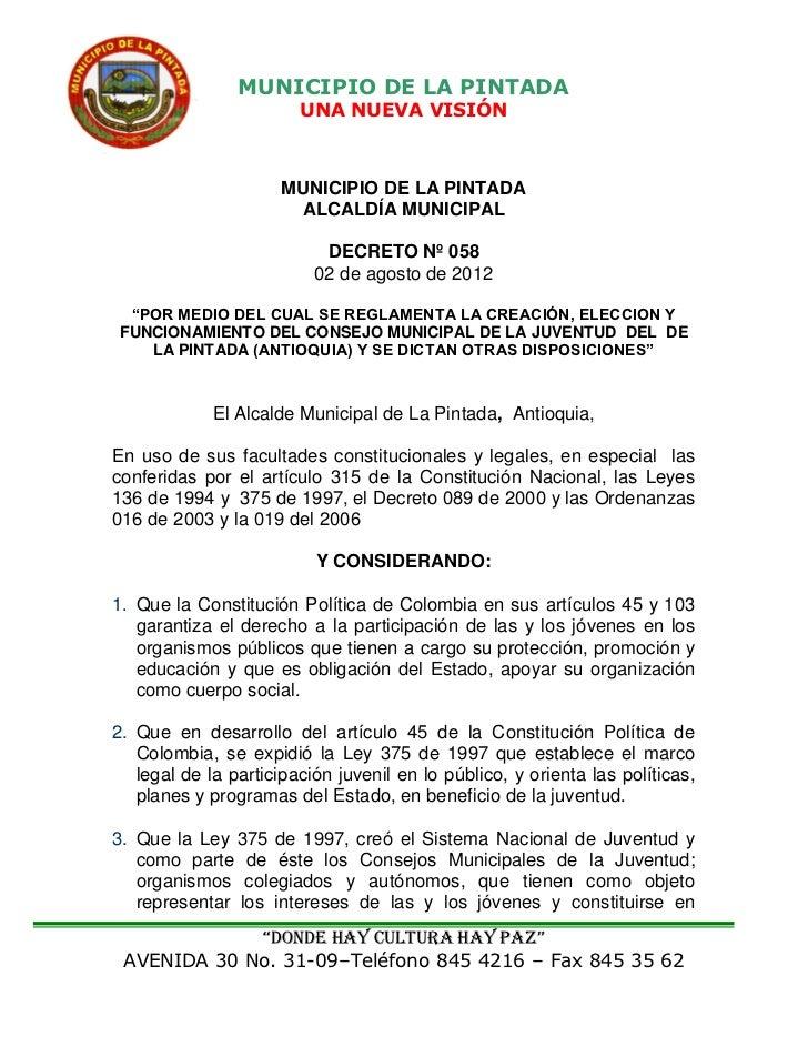 MUNICIPIO DE LA PINTADA                        UNA NUEVA VISIÓN                      MUNICIPIO DE LA PINTADA              ...