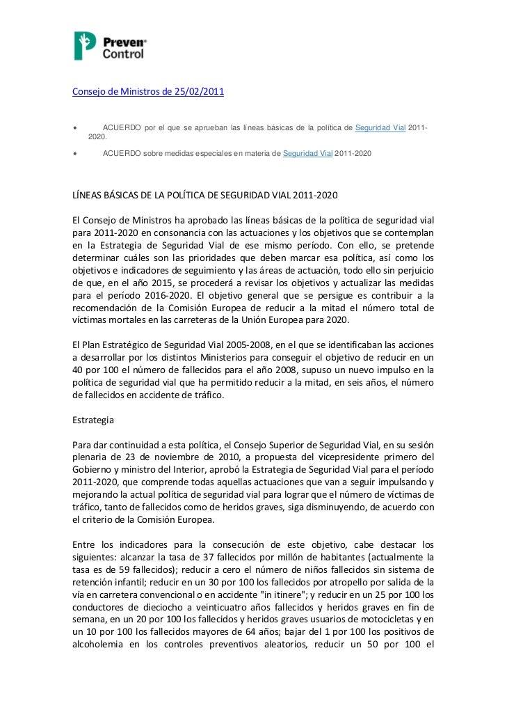 Consejo de ministros 25022011 for Clausula suelo consejo de ministros