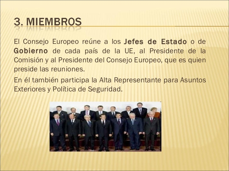Consejo europeo for Presidente del consejo europeo