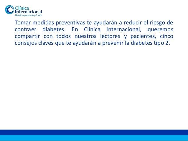 Clínica Internacional | Cinco consejos para prevenir la