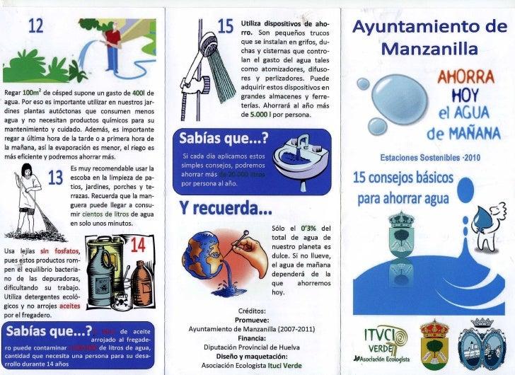 15 consejos para ahorrar agua for Maneras para ahorrar agua