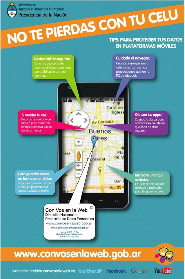 Consejos para el buen uso de tu dispositivo móvil