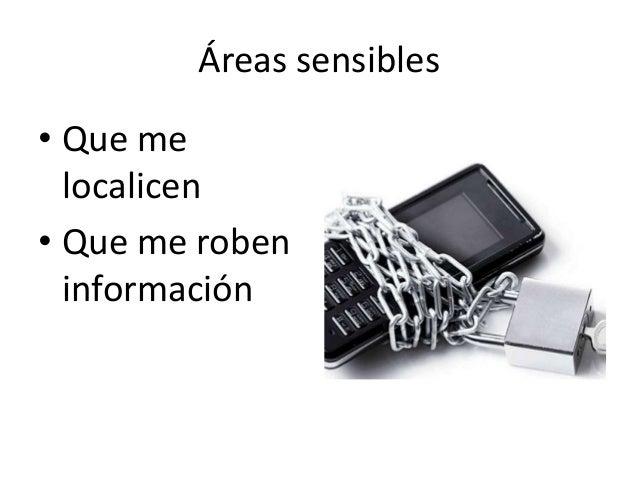 Consejos de seguridad para móviles evitar ser localizado Slide 2