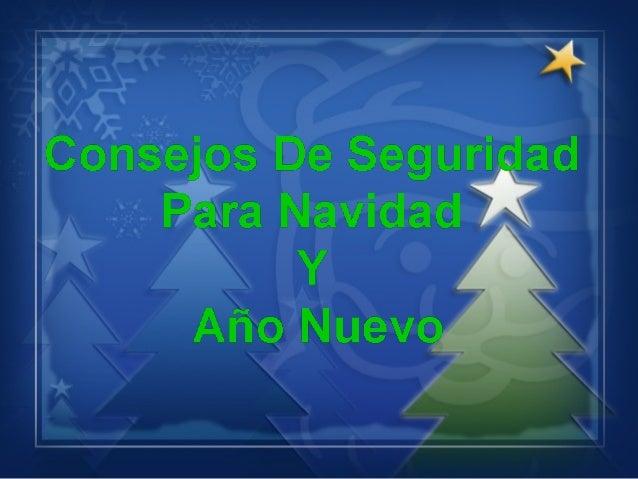 _  x r   Co'i1s'e'os De Seguri ad )   *3 Navidad 7    Y  Afio Nuev