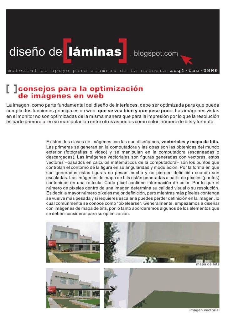 diseño de láminas                                          . blogspot.com  material de apoyo para alumnos de la cátedra ar...