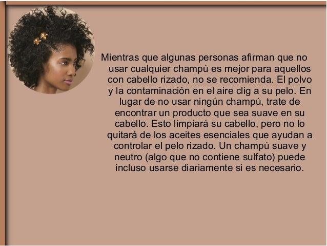 La máscara para los cabellos frágiles con los aceites