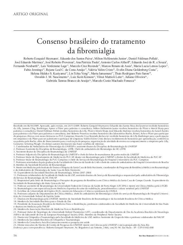 Artigo original 56 Rev Bras Reumatol 2010;50(1):56-66 Recebido em 06/10/2009. Aprovado, após revisão, em 24/11/2009. Rober...