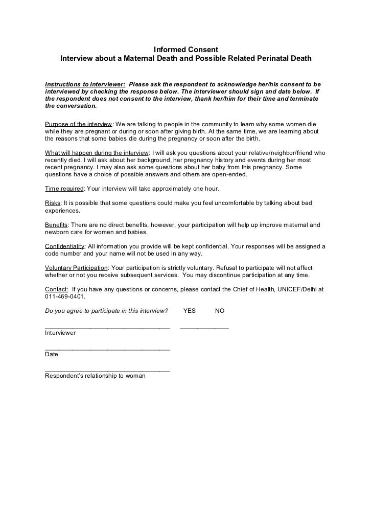 informed consent form for interview - Heart.impulsar.co