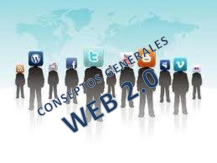 Web 2.0 permite a los                  una serie de aplicaciones           usuarios interactuar y                  y págin...