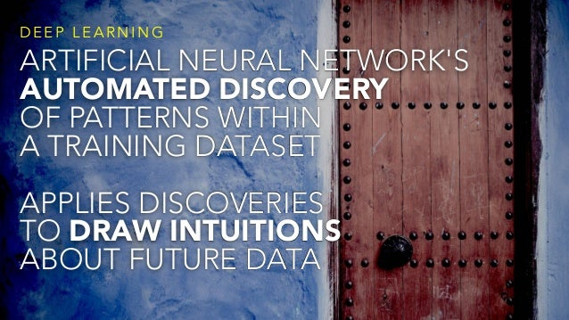 @ C C Z O N A ARTIFICIAL NEURAL NETWORK'S AUTOMATED DISCOVERY OF PATTERNS WITHIN  A TRAINING DATASET APPLIES DISCOVERIES ...