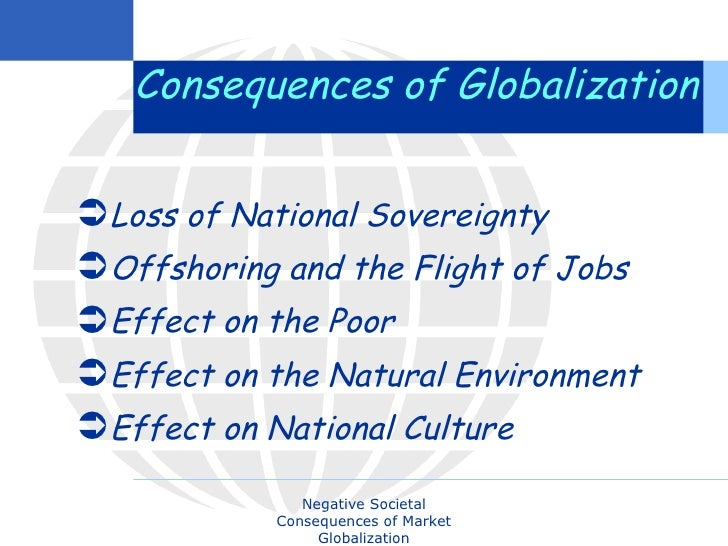 4 positive impacts of globalization on world economy