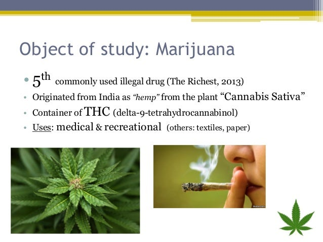outline of legalization of marijuana