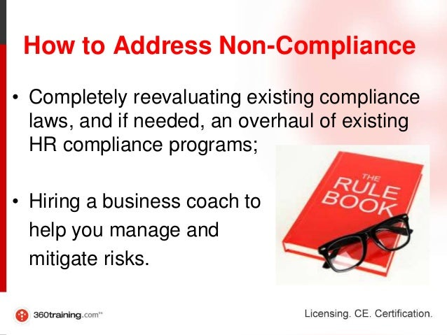 elaborate the consequences of non compliance of Home resource center guides corporate compliance: the consequences of losing good standing status  adverse entity status due to non-payment of taxes can result in.