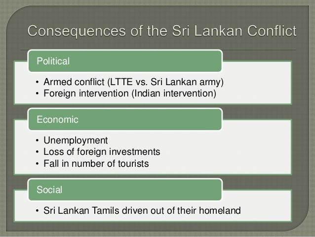 social studies conflict in sri lanka Study flashcards on social studies - conflict in sri lanka at cramcom quickly memorize the terms, phrases and much more cramcom makes it easy to get the grade you want.
