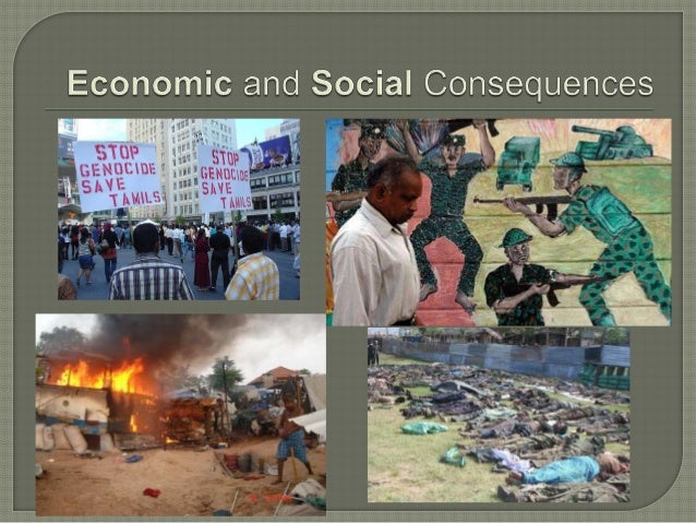 War destroys jobs 1. Unemployment • Riots in July 1983 destroyed many factories and tea plantations • Many people - both S...