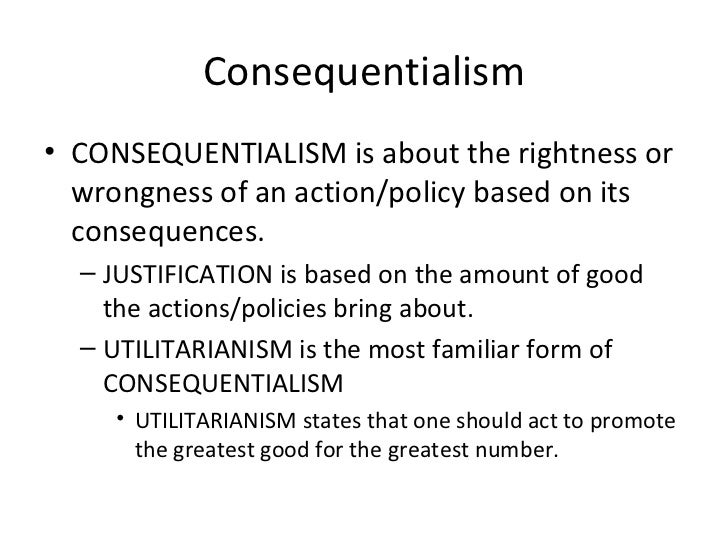 utilitarianism is the most useful ethical For one who rejects ethical egoism and also feels unhappy about the  some  utilitarians are hedonists about this, equating the good with happiness and.
