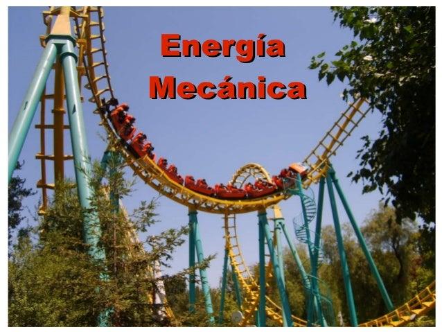 EnergíaMecánica