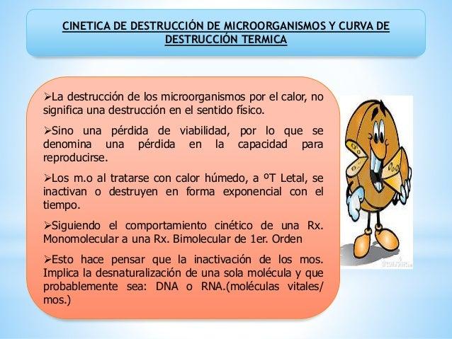 MODELOS MATEMATICO DE LA LETALIDAD DEL TRATAMIENTO TERMICO: A---------------- B ; dN = -KN d La desnaturalización de ést...