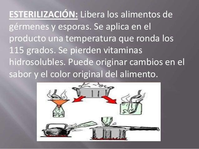 Conservación de los alimentos por métodos químicos: SALAZÓN: Es un proceso de conservación basado en la adición de sal en ...