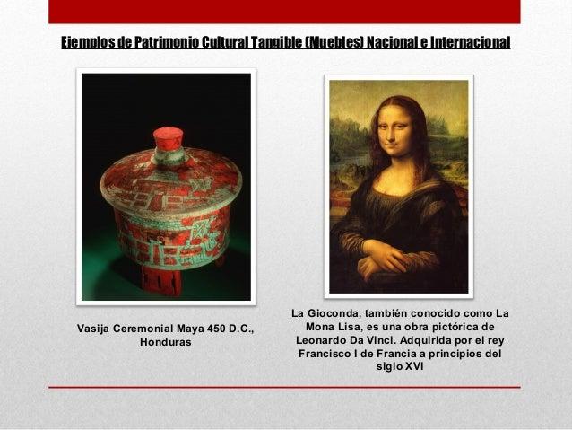 Conservacion de monumentos 2013 for Patrimonio mueble