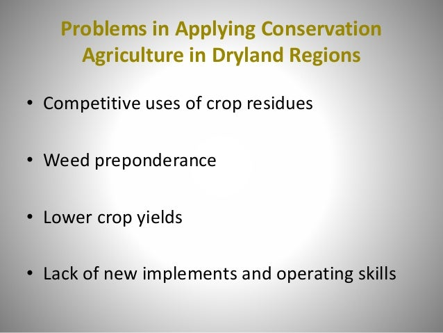 Cost of Field Operation –Cereal/Legume Rainfed Rotation under Conservation Agriculture and Conventional Agriculture (Syria...