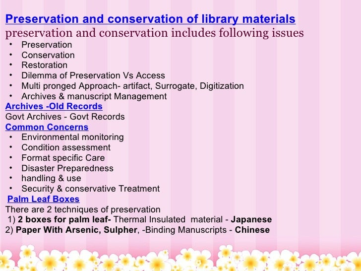 preservation and conservation of books Paper caring for your documents and works of art on paper american institute for conservation of historic and artistic works wwwconservation-usorg/indexcfm.