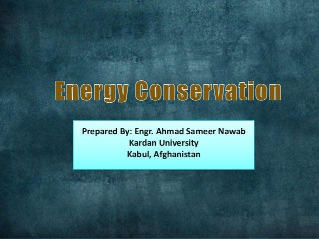 Prepared By: Engr. Ahmad Sameer NawabKardan UniversityKabul, Afghanistan