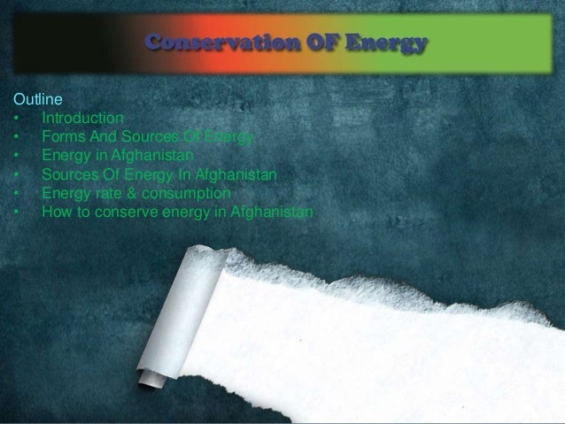 Conservation of energy Slide 2