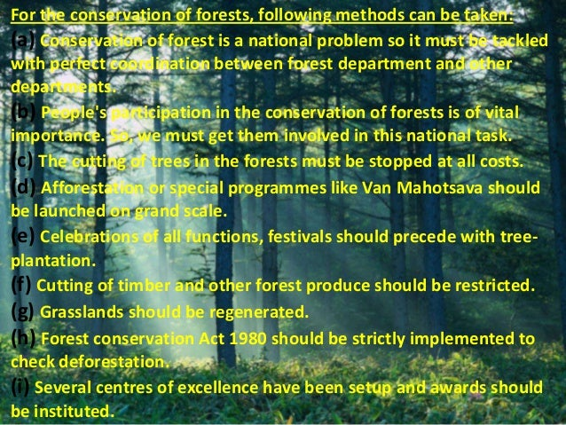Conclusion Of Conservation Of Natural Resources In India