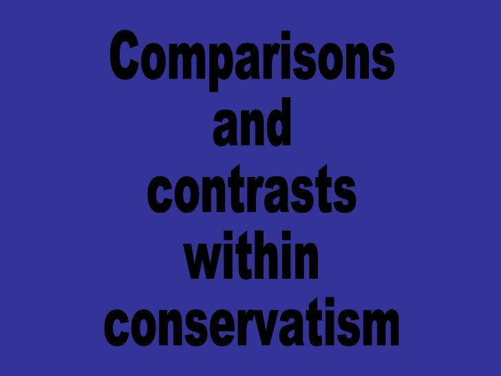 an overview of conservatism An excerpt from moral politics: conservatism and liberalism are radial this overview is also too brief to discuss variations on the conservative and.