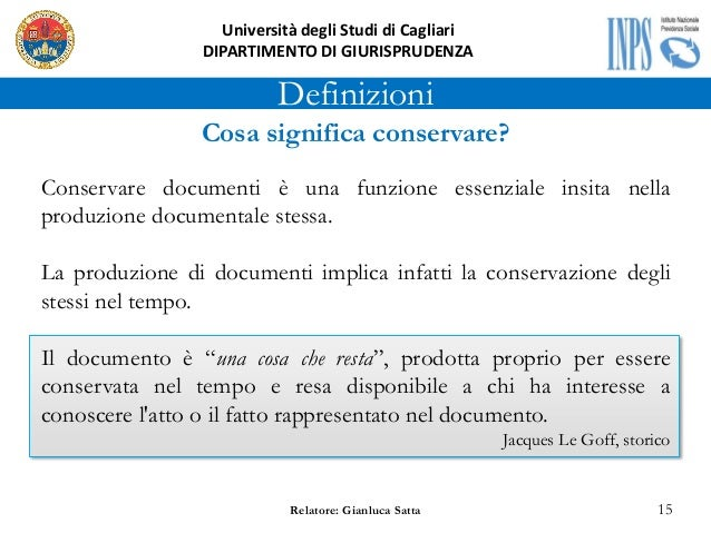 Exceptional Awesome Definizioni With Per Quanto Tempo Si Conservano I Documenti With  Per Quanto Tempo Conservare Documenti.