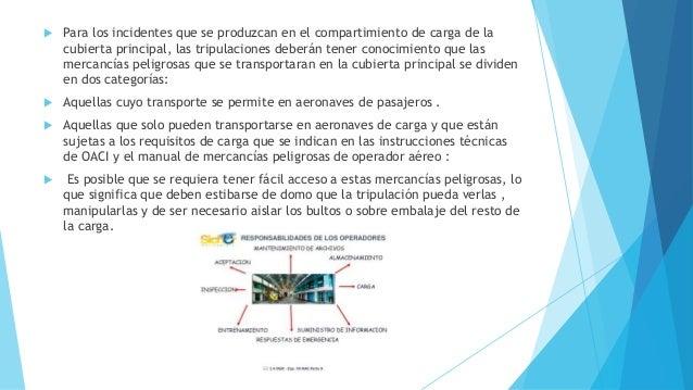  Para los incidentes que se produzcan en el compartimiento de carga de la cubierta principal, las tripulaciones deberán t...