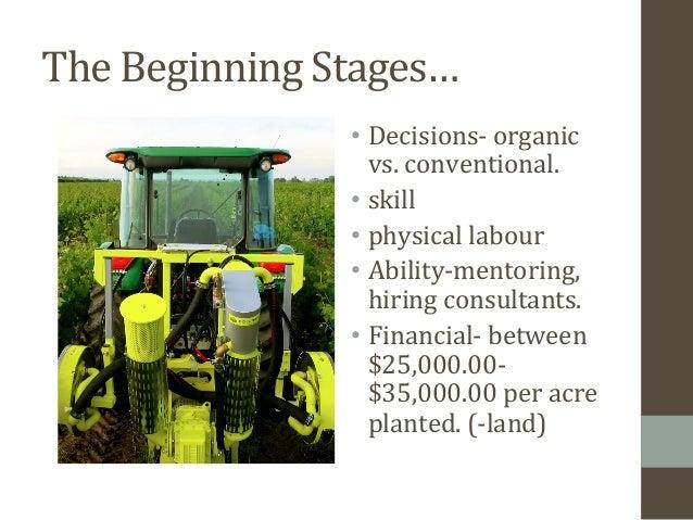 Considerations for starting an organic vinyard Slide 3