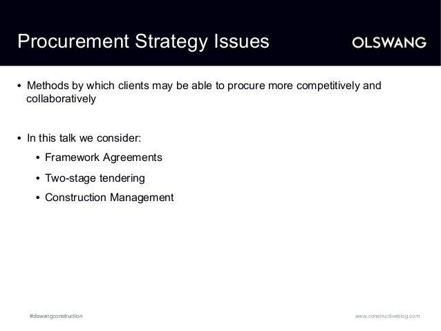 procurement program construction