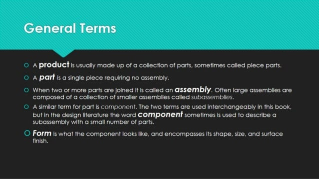 Considerations of good design Slide 2