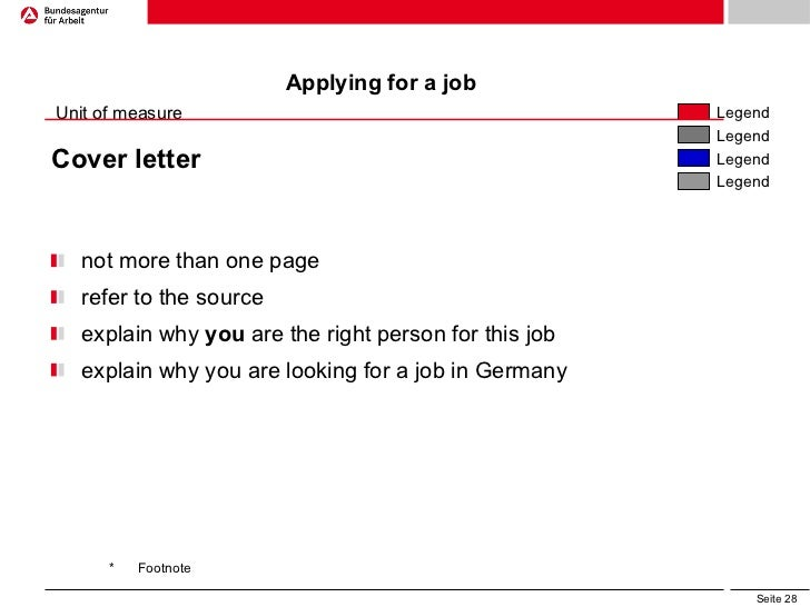 Visa Cover Letter Germany