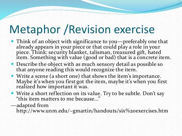 Metaphor Essay  Barcafontanacountryinncom Metaphor Essay Personal Reported Essay Cnf  Never Give Up Essay