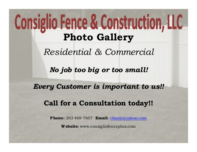 Photo Gallery  Residential & Commercial    No job too big or too small!Every Customer is important to us!!  Call for a Con...