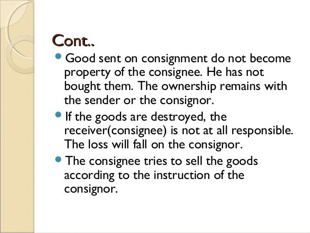 Doc800997 Consignment Legal Definition Consignment Contracts – Consignment Legal Definition