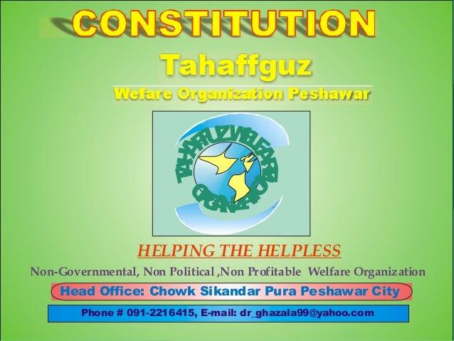 AA TH  R AE  L U E FZW F F  O  O R A AIN G NZT I  HELPING THE HELPLESS Non-Governmental, Non Political ,Non Profitable Wel...
