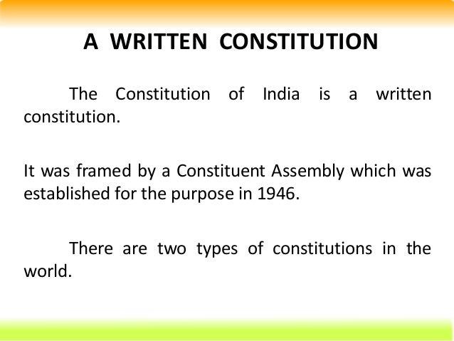 salient features of indian constitution essay Essay on the salient features of indian constitution the constitution of india included not only the constitution of the union but also of the states.