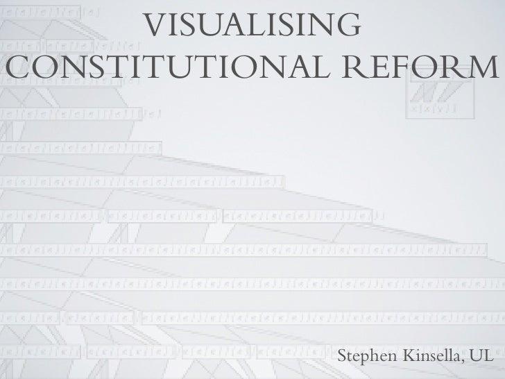 VISUALISING CONSTITUTIONAL REFORM                   Stephen Kinsella, UL