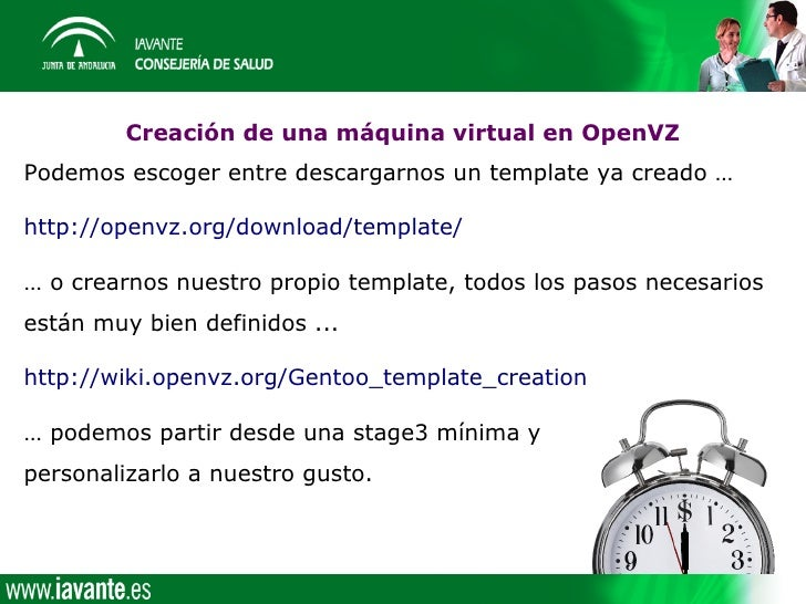 Consolidacion for Openvz templates download