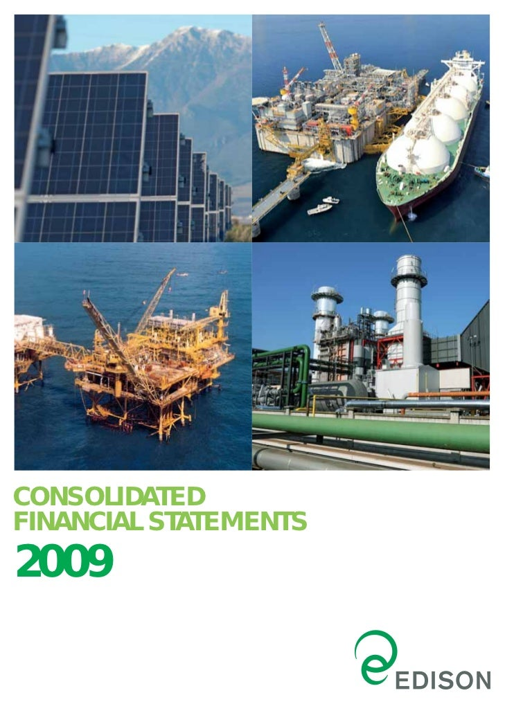 CONSOLIDATEDFINANCIAL STATEMENTS2009
